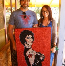 Megan Mullally and Nick Offerman Dig Glitter!