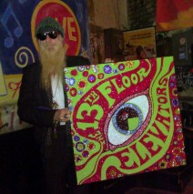 Billy Gibbons Digs Glitter!